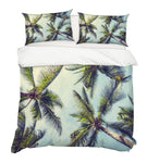 3D Green Coconut Trees Quilt Cover Set Bedding Set Pillowcases 46