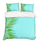 3D Green Leaves Quilt Cover Set Bedding Set Pillowcases 82