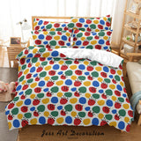 3D Abstract Color Geometry Quilt Cover Set Bedding Set Duvet Cover Pillowcases 70