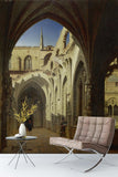 3D nordic palace oil painting wall mural wallpaper 103