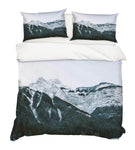 3D Snow Mountain Quilt Cover Set Bedding Set Pillowcases 74