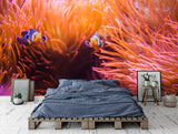 3D Tropical Coral Fish Wall Mural Wallpaper 12 - Jessartdecoration