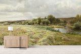 3D rural nordic oil painting wall mural wallpaper 67