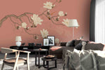 3D blossom branch wall mural wallpaper 53