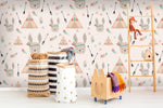 3D Tent Arrow Rabbit Feather Wall Mural Wallpaper 64