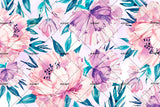 3D pink flowers background wall mural wallpaper 45