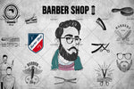 3D Barber Shop Photo Wall Mural Wallpaper 113