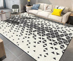 3D Abstract Geometric Pattern Non-Slip Rug Mat 27