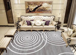3D Abstract Geometric Pattern Non-Slip Rug Mat 14