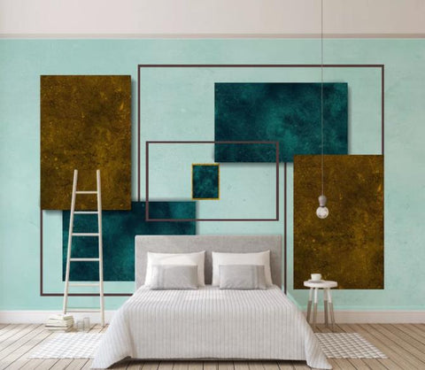 3D Abstract Geometric Pattern Wall Mural Wallpaper 55