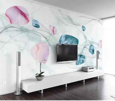 3D Abstract Geometric Pattern Wall Mural Wallpaper 50