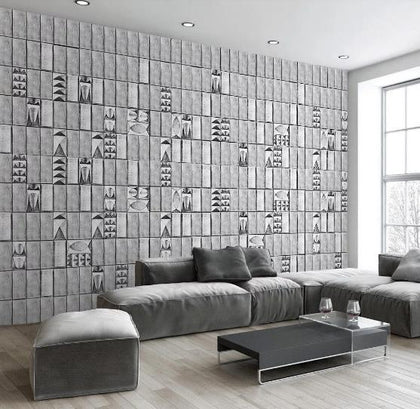 3D Brick Wall Mosaic Wall Mural Wallpaper 326
