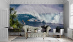 3D Sea Wave Surf Wall Mural Wallpaper SF75