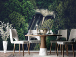 3D Highway Tunnel Forest Wall Mural Wallpaper SF69