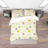 3D Hand Drawn Forest Animal Rainbow Quilt Cover Set Bedding Set Duvet Cover Pillowcases 69
