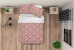 3D Hand Drawn Pink Floral Quilt Cover Set Bedding Set Duvet Cover Pillowcases 59