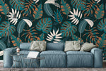 3D Green Leaves Wall Mural Wallpaper 49