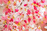 3D red flowers background wall mural wallpaper 39