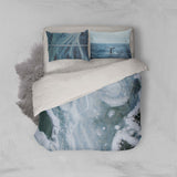 3D Blue Sea Quilt Cover Set Bedding Set Pillowcases 42