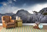 3D Mountain Wall Mural Wallpaper