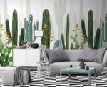 3D Cactus Long 368 Wallpaper Jess Art Decoration 2