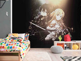 3D Cartoon Sword Art Online Wall Mural Wallpaper WJ 2147
