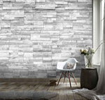 3D Long Stone Wall Effect  Wall Mural Wallpaper 87