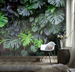 3D Tropical Plant Leaves  Wall Mural Wallpaper 94
