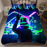 3D Marshmello Doctom Quilt Cover Set Bedding Set Pillowcases 17