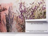 3D lavender flower wall mural wallpaper 76