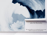 3D wavy wave ink wall mural wallpaper 87