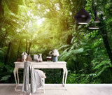 3D Green Tropical Jungle  Wall Mural Wallpaper 96
