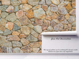 3D Stone Wall Mural Wallpaper 95
