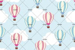 3D White Cloud Balloon Wall Mural Wallpaper 79