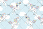 3D White Cloud Unicorn Wall Mural Wallpaper 80