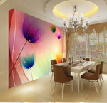 3D Floral Flowers Wall Mural Wallpaper SF129