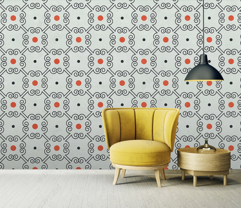 3D Classic Vintage Pattern Background Wall Mural Wallpaper LXL