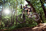 3D Forest Sunshine Bike Wall Mural Wallpaper 33