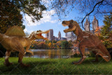 3D Dinosaur City Wall Mural Wallpaper 41