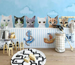 3D Cute Cat 234 Wallpaper Jess Art Decoration