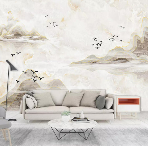 3D landscape painting background wall mural wallpaper 488