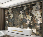 3D Lily Flower Wall Mural Wallpaper 2625