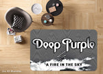 3D Deep Purple Rock Band Non-Slip Rug Mat 42