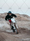 3D Motorcycle Cross Country Race Wall Mural Wallpaper A060 LQH