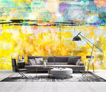 3D Abstract, Autumn scenery, Oil painting Wallpaper