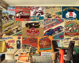 3D Nostalgic, Vintage, Car posters Wallpaper