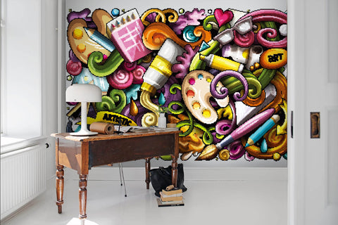 3D Graffiti, Painting tool Wallpaper
