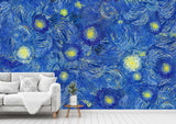 3D Hand-painted, Abstract, Starry sky Wallpaper