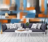 3D Abstract, Contrasting, Oil painting Wallpaper