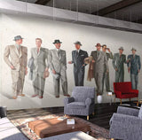 3D Vintage, Wearing, Men's clothes Wallpaper